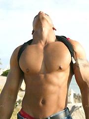Horny brazillian stud