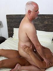 Sexy stud fucks older gay Jake