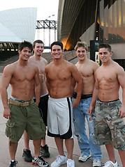Hot naked jocks posing