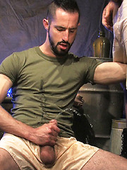 Steve Stavrou is the perfect submissive, on his...