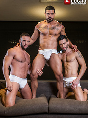 DONATO REYES AND ANDY STAR SHARE FRANK TYRON'S ALPHA COCK