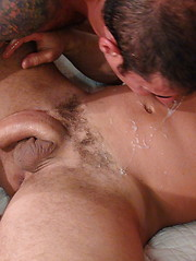 Hairy man Nick nails his ass bareback in a variety of positions
