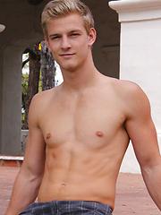 Very hot guy model Sheldon