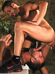 Two gays urina dirty show