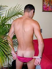 Brazilian guy Pedro showing a fucking big cock