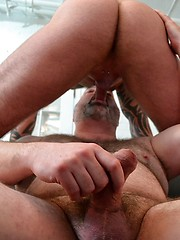 Two hot gay bears Marc Angelo and Tristan Riant