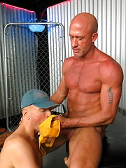 Jayson Park servicing daddy Jake Norris thick cock