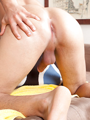 Kellan Parker  slipping his finger in and out, he begs us the come closer