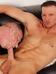 Beau Flexxx eases himself into Blake Daniels ass and begins pounding
