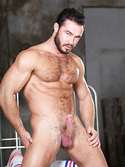 Porn stud Jessy Ares gets into the ring with Ricky, his Berlin-based lover. Ricky is gorgeous too...