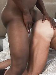 Big White Guy Likes Fucking on Big Black Cock