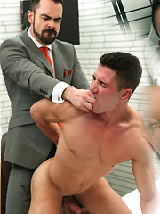 Dolan Wolf begins to play with Marco Rubi dick
