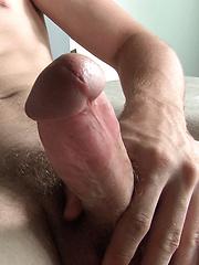Big cocked boy with a dildo