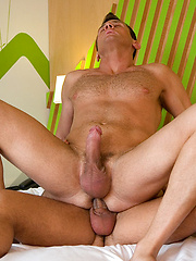 Watch Ettore mercilessly pound Damien, then ride his fat cock