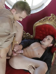 Father Salvatore commits sins of the flesh with brother Adrian