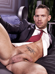 Morgan Black Bottoms for Shane Frost in a Suit