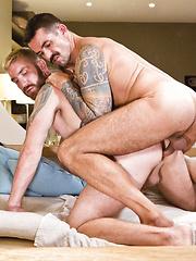 Geoffrey Paine and Joe Gunner Show Off Their Bareback Sex Skills