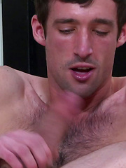 Derrick Manx is The Self Sucker. Watch him go down balls-deep on his cock while plugging his ...