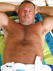 Beefy Brock Hart is looking for some daddies
