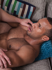 Jay Landford Shoves his black cock deep of Andres Moreno