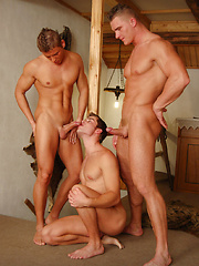 Threesome: Eric, Micky, and Rod