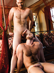Evan Lance Gives Spencer Whitman His Raw Load