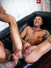 Rafael Carreras Fucks Rico Romero In The Ass Bareback