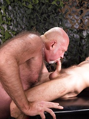 Chuck Collier and Ethan Palmer