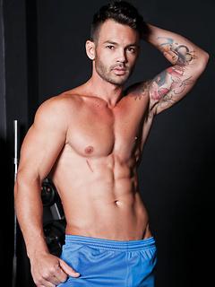 gay model Adriano Carrasco