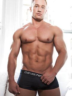 gay model Alexander Volkov